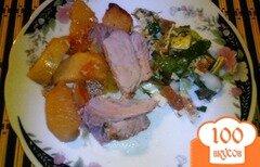 Фото рецепта: «Буженина с картофелем»