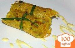 Фото рецепта: «Драники с зеленым луком»