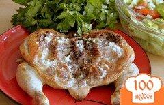 """Фото рецепта: «Цыпленок """"Тапака""""»"""