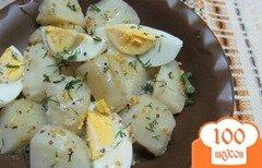 Фото рецепта: «Картофельный салат с яйцом»