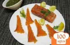Фото рецепта: «Слабосоленый лосось»