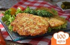 Фото рецепта: «Картофельные драники с беконом»