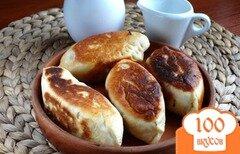 Фото рецепта: «Пирожки жареные с картошкой (на дрожжах)»