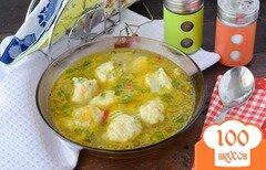 Фото рецепта: «Суп с галушками»
