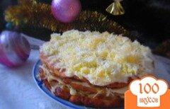 Фото рецепта: «Кабачковый торт из замороженных кабачков»