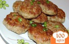 Фото рецепта: «Котлеты из мяса утки с овсяными хлопьями»