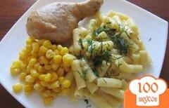 Фото рецепта: «Куриные ножки в горчичном маринаде»