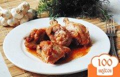Фото рецепта: «Курица в банке с томатным соусом»