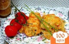 Фото рецепта: «Минтай запеченный с овощами»