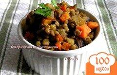 Фото рецепта: «Овощное рагу с чечевицей»