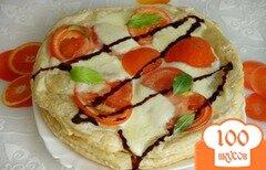 Фото рецепта: «Закусочный торт Капрезе»