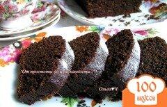 Фото рецепта: «Свекольно-шоколадный кекс с миндалем»