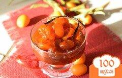 Фото рецепта: «Кумкваты в сиропе из красного апельсина»