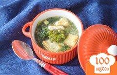 Фото рецепта: «Диетический суп с брокколи»
