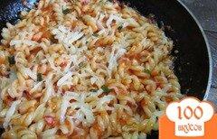 Фото рецепта: «Макароны под соусом на водке»