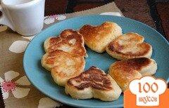 Фото рецепта: «Сырники-сердечки»