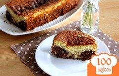 Фото рецепта: «Мраморный кекс с шоколадом»