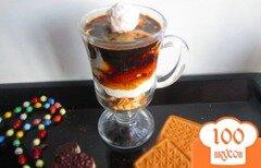 Фото рецепта: «Творожно-кофейный десерт»