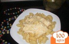 Фото рецепта: «Макароны с сырным соусом»