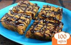 Фото рецепта: «Тыквенно-нутовые пирожные»