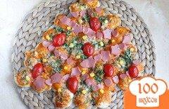 Фото рецепта: «Пицца Елочка»
