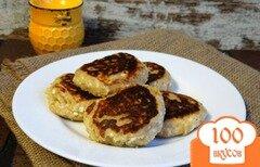 Фото рецепта: «Сырники с грибной начинкой»