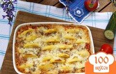 Фото рецепта: «Запеканка из капусты и фарша, с картофелем»