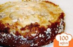 Фото рецепта: «Пирог с фруктами под сметанным кремом»