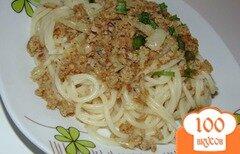 Фото рецепта: «Паста спагетти со свино-говяжим фаршем»