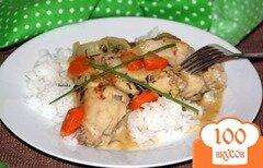 Фото рецепта: «Кролик в белом соусе»