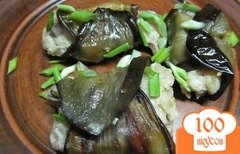 Фото рецепта: «Рулеты из баклажана»
