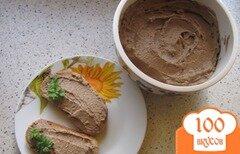 Фото рецепта: «Вкуснейший печеночный паштет с простейшим рецептом»