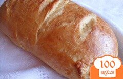 Фото рецепта: «Хлеб на оливковом масле с кунжутом»