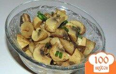 Фото рецепта: «Маринованные шампиньоны с приправой для моркови по-корейски»