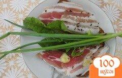 Фото рецепта: «Сало домашнее холодного посола с пряностями»