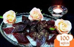 Фото рецепта: «Мармелад сливовый с желатином»