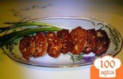 Фото рецепта: «Котлеты из индейки с йогуртом»