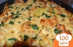 Фото рецепта: «Картошка с чесноком и сыром»