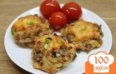 Фото рецепта: «Телячьи рубленные котлеты с сыром»