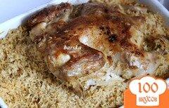 Фото рецепта: «Курица по-аджарски на рисе»