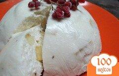 Фото рецепта: «Торт без выпечки с бананом»