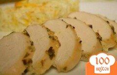 Фото рецепта: «Куриное филе по гавайски с цитрусовым соусом»