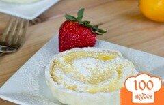 Фото рецепта: «Пирог с лимонным кремом»