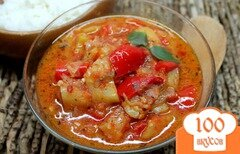 Фото рецепта: «Лечо из красного и желтого перца»