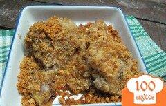 Фото рецепта: «Куриные ножки начиненные хлебной крошкой»