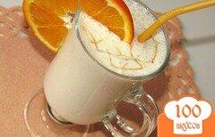 Фото рецепта: «Творожно-апельсиновый десерт с овсяными хлопьями»