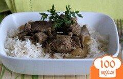 Фото рецепта: «Жаркое из бедра индейки»