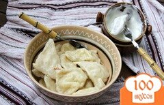 Фото рецепта: «Колцунаш с брынзой и картофелем»