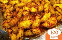 Фото рецепта: «Картофель по-деревенски»