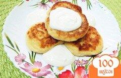 Фото рецепта: «Творожники на сковороде»